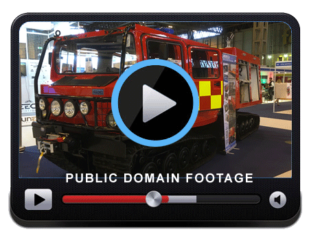 Video of the BV206 Fire Chief on the stand at the Emergency Services Show
