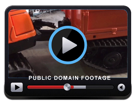 Video of how the steering on a BV206 works using center point hydraulic articulation